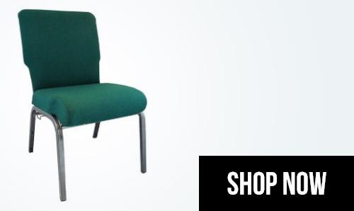 205inch church chairs