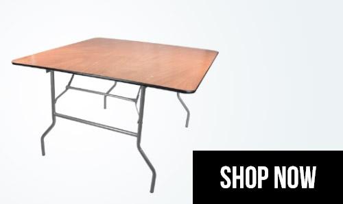 ... Square Folding Tables ...